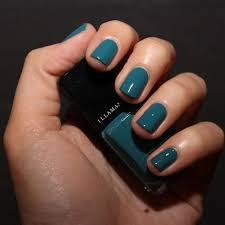 Dark Turquoise Nail Polish Images