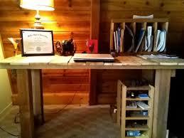 Diy Wood Computer Desk by 35 Best Desk Ideas Images On Pinterest Home Desk Ideas And