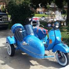Vespa P200e With Sidecar