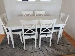ikea esstisch 6 stühle