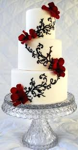 Black And White Wedding Cake Decorating Ideas Ideal Weddings
