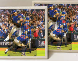 chicago cubs world series coasters etsy