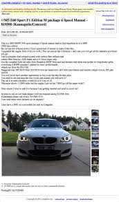 100 Craigslist Charlotte Cars And Trucks By Owner For 19500 This E60 Demands High Ballers