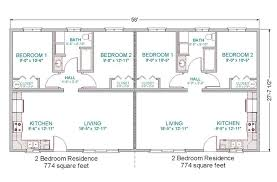 Small Duplex Floor Plans by Simple Small House Floor Plans Modular Duplex Tlc Modular