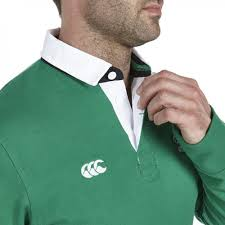 ireland l s plain rugby jersey green casual from irfu uk
