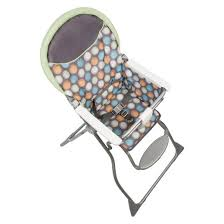 cosco slim fold high chair ikat dots target