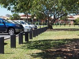 100 Redland City Council Installs Brolga Bollards At WH Yeo