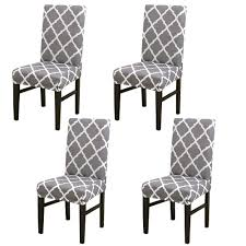 Amazon.com: Dining Chair Slipcovers Set Of 4 Spandex Dining Chair ... 14610pcs Stretch Velvet Ding Chair Covers Slip Seat Images Elegant Home Design Clear Plastic Kitchen Chairs Elegant Amazon Laminet All Over Decor Table Sets Space Fancy And Luxury Room Light Of For Sale Armchair Afdu Patterned Amazing Short Modern Unique White Fabric Cover With Full Length Skirt Fantastic Several Things To Consider In Top 23 Amazoncom My Super Fit Removable Fniture Parson Slipcovers
