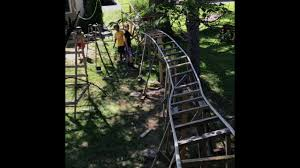 Building The Backyard Roller Coaster - YouTube Worlds Smallest Roller Coaster Located In Queens New York City Outnback Negative G Backyard Roller Coaster Album On Imgur Homemade Pvc Rollcoaster Daytime Pov1 Youtube Home Byrc Rdiy Timbliner Back Yard Overview Indiana Oddities Amazing Diy Rollcoaster Video 2016 Daily Heart Beat This Awesome Grandpa Makes An Epic For His Designing A Safe With Paul Gregg Coaster101 Building The