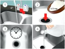 Clogged Drain Home Remedy Kitchen by Slow Kitchen Sink Drain Sinks Ways To Unclog A Garbage Disposal