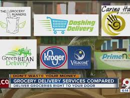 Grocery Getters WCPO puts home delivery services to the test