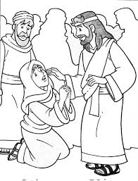 Coloring Download Jesus Heals A Leper Page And