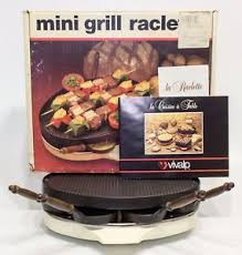 table cuisine vintage vivalp raclette mini grill vintage retro table cuisine