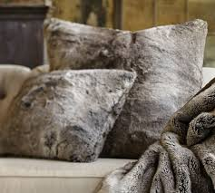 Pottery Barn Throw Pillows by Faux Fur Pillow Faux Fur Pillows Wolf Faux Fur Pillow Fake Fur