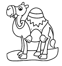 Free Printable Mammoth Coloring Pages Camel Page