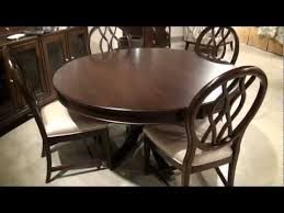 Alston Round Oval Pedestal Dining Table By Kincaid Furniture