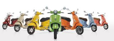 Vespa Primavera 50 125 150 Cc Modern Flowing Lines Whose Key Points Recall The Exclusive Style Of 946