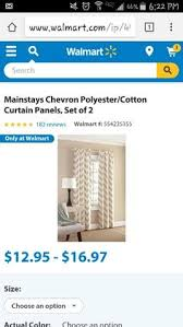 Walmart Mainstays Chevron Curtains by Solid Bright Primary Yellow Valance Curtain By Prettythreads22