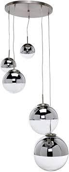 lindby pendelleuchte ravena modern in transparent aus glas ua für wohnzimmer esszimmer 5 flammig e27 a hängele esstischle