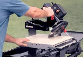 Tile Saw Blades Home Depot by How To Cut Tile With A Wet Saw At The Home Depot