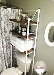 Wood Bathroom Shelf Reclaimed