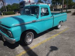 Ford F100 Pickup In Florida For Sale ▷ Used Cars On Buysellsearch Ford Motor Company Timeline Fordcom 1964 F100 For Sale Near Las Vegas Nevada 89119 Classics On Busted Knuckles Photo Image Gallery Custom Cab F250 Pickup Truck Custom_cab Flickr Econoline For Sale Memphis Tennessee Restorod Just Sold Blocker Motors Cadillac Michigan 49601 Stepside Information And Photos Momentcar Hot Rod Network Rear 1 Classic Trucks Short Bed G100 Indy 2014