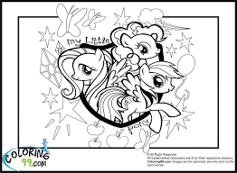 Greatest Mlp Coloring Pages Games My Little Pony Twilight Sparkle And Friends 6