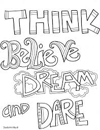 Remarkable Free Printable Inspirational Coloring Inspiration Graphic Pages