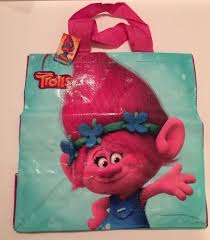 Tesco Trolls Tote Bag Poppy Branch Pink DreamWorks Shopper Suki