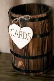 Tabletop Whiskey Barrel For Cards Khimaira Farm Outdoor Barn Wedding Venue Shenandoah Valley Blue Ridge