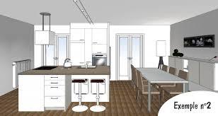 plan 3d cuisine la baule nazaire cuisiniste la baule