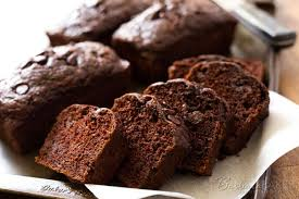 This Chocolate Chocolate Chip Zucchini Bread is a moist delicious better for