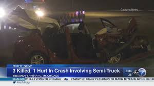 100 Truck Accident Chicago 3 Killed In I57 Crash On Far South Side Identified Abc7chicagocom