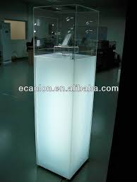 Led Acrylic Lighted Display Case For Hot Toys