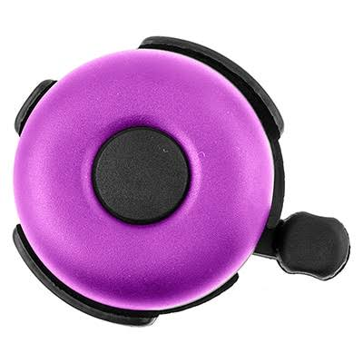 Bicycle Riding Handlebar Bell Sunlite Ringer - Purple, 53mm, Alloy