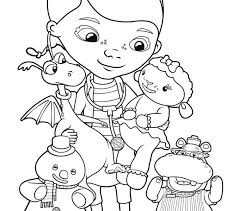 Free Printable Coloring Pages Doc Mcstuffins Best