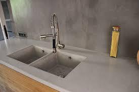 plan de travail cuisine béton ciré cuisine plan beton cire