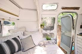 100 Airstream Interior Pictures This Adventurous Couple Revamped An Old Into A