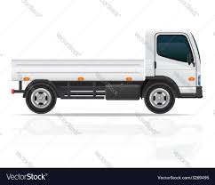 Small Truck 01 Royalty Free Vector Image - VectorStock