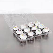Cupcake Plastic Container