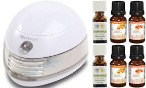Puritan's Pride: 6 Essential Oils + SpaRoom Aromafier Only ...
