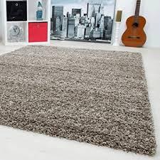 teppiche hochflor shaggy für wohnzimmer esszimmer gästezimmer mit 3 cm florhöhe einfarbig shaggy teppiche oekotex zertifizierte teppiche