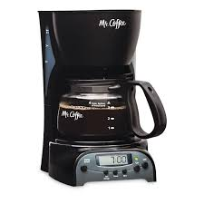 Mr CoffeeR Simple Brew 4 Cup Programmable Coffee Maker Black