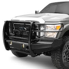 100 Truck Grill Guard Frontier Gear Full Width Front HD Bumper With Brush