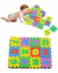 DEAL ALERT 180Pcs Kids Eva Foam Floor Alphabet Puzzle Mats Baby