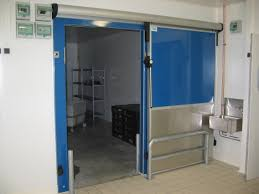 porte coulissante chambre froide porte coulissante isotherme industisol industisol