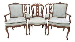 Kindel French Style Dining Chairs - Set Of 6 Kindel Fniture Cherry Banquetstyle Ding Room Table 1960s Breakfront Cabinet Rigakublogcom Details About L46708ec Set Of Kindel Shield Back Carved Mahogany Chairs Vintage Belvedere Spoonback Of 6 Rare Sofas Storage Cabinets More Hickory Chair Bedroom Chest 156673 Studio 882 The Arts French Country 4 Regency Style Wall Mirror Thomasville Fniture Tableau Collection Cane Arm 70195 233246 One Drawer Lamp Side End From Philly Pladelphia Attic