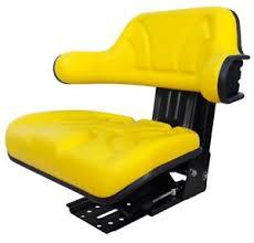siege deere deere 1445 1565 2266 cc 2 mc1 cabine siège de tracteur jaune