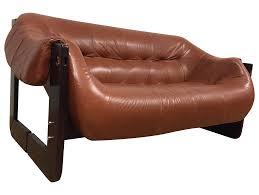 vintage used percival lafer furniture chairish brazilian leather