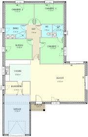 surface chambre plan maison plain pied 6 chambres 11 bureau 1090 m178 surface